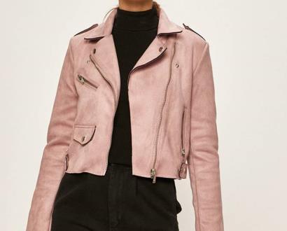 Růžová bunda only