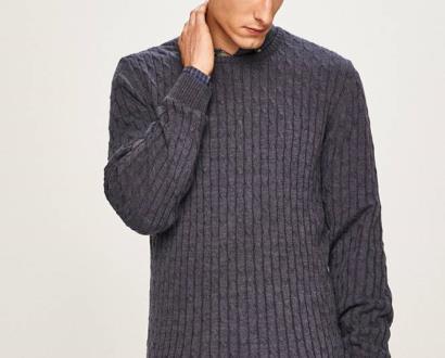 Modrý svetr Pierre Cardin