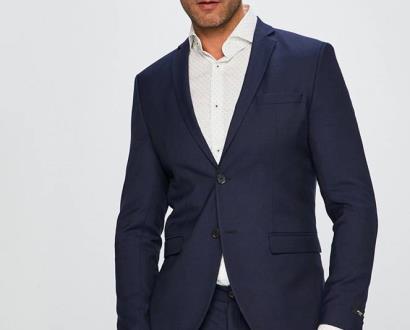 Modré sako Premium by Jack&Jones