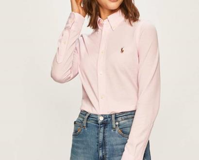 Růžová halenka Polo Ralph Lauren
