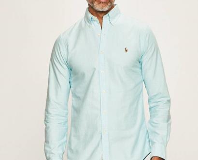 Modrá košile Polo Ralph Lauren