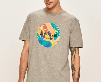 Šedé tričko quiksilver