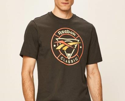 Šedé tričko reebok classic