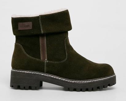 Zelené boty s.oliver