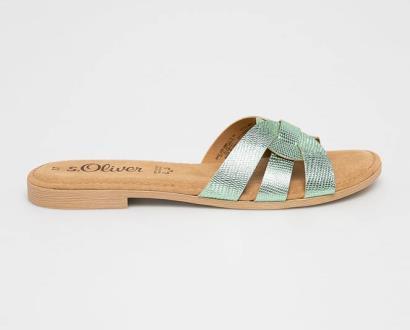Tyrkysové boty s.oliver