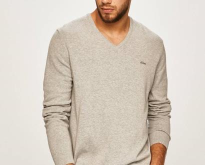Šedý svetr s.oliver