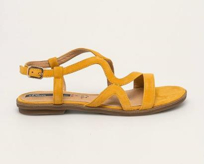 Žluté boty s.oliver