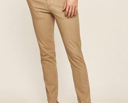 Béžové kalhoty SELECTED