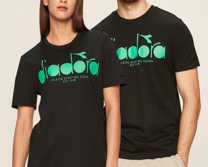 Černé tričko Diadora