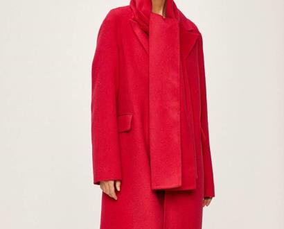 Růžová bunda tommy hilfiger