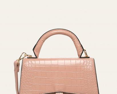Růžová kabelka ANSWEAR