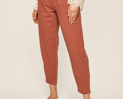 Růžové kalhoty ANSWEAR