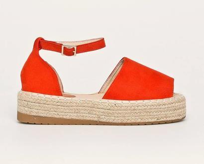Oranžové boty ANSWEAR