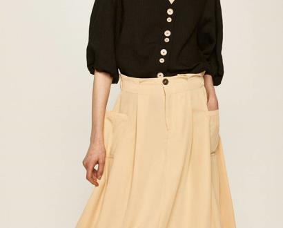Béžová sukně ANSWEAR