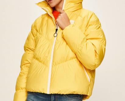 Žlutá bunda Nike Sportswear