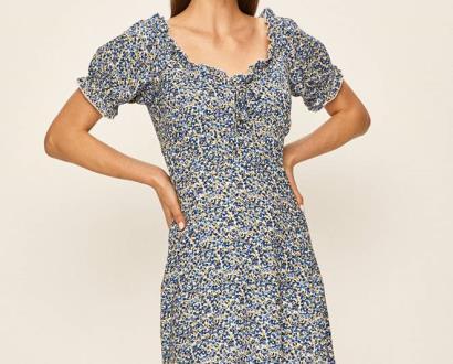 Modré šaty Brave Soul
