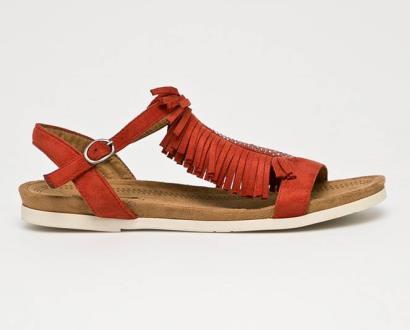 Oranžové boty Corina