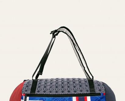 Vícebarevný kufr Desigual Sport