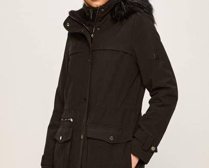 Černá bunda dkny