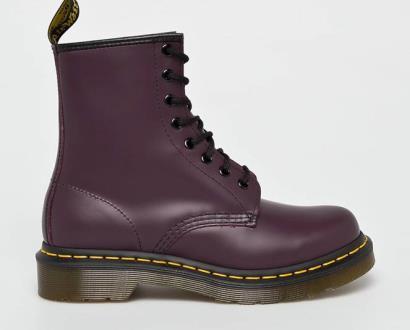 Fialové boty dr. martens