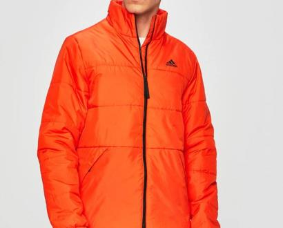 Oranžová bunda adidas performance