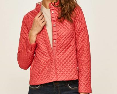 Růžová bunda geox