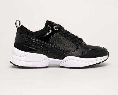 Černé boty Guess Jeans