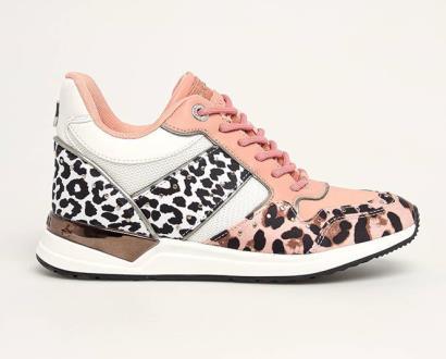 Růžové boty Guess Jeans