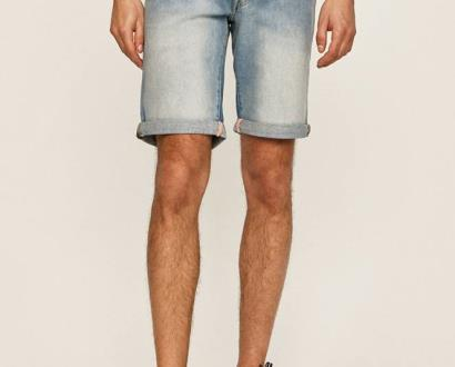 Modré kraťasy Guess Jeans