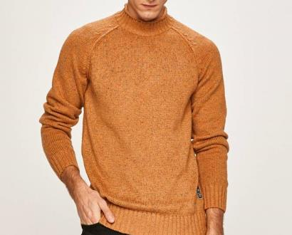 Oranžový svetr jack & jones