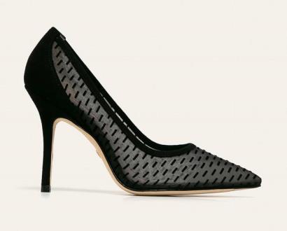 Černé boty Stuart Weitzman