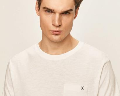 Bílé tričko Clean Cut Copenhagen