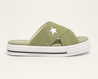 Zelené boty converse