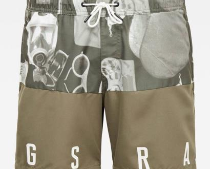 Béžové plavky G-Star RAW