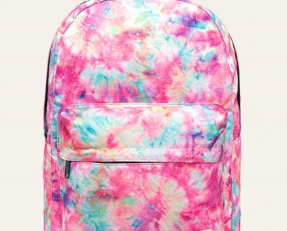 Růžový batoh spiral