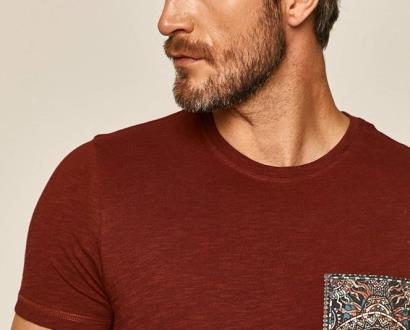 Burgundské tričko MEDICINE
