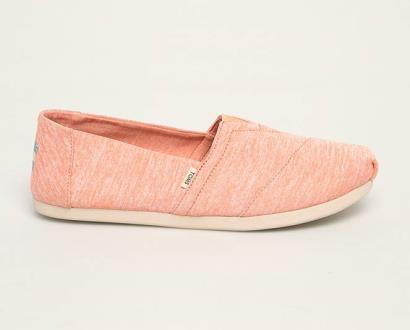 Oranžové boty toms