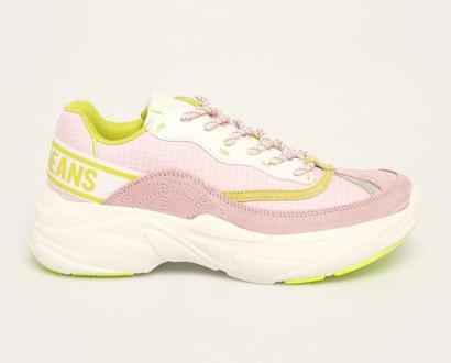 Růžové boty pepe jeans