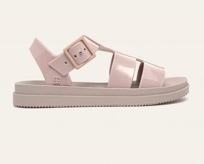 Růžové boty zaxy