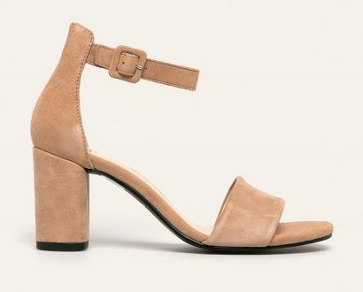 Béžové boty vagabond