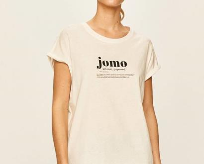Bílý top vero moda