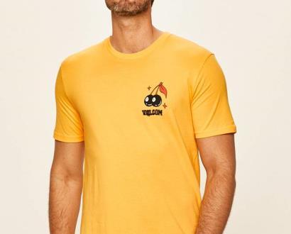 Žluté tričko Volcom
