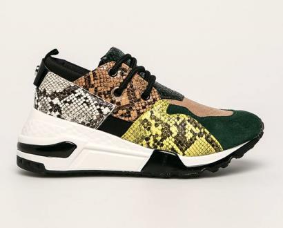 Zelené boty steve madden