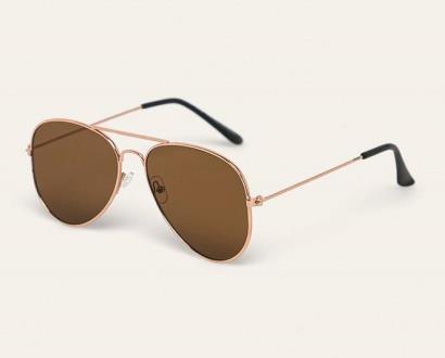 Hnědé brýle ANSWEAR