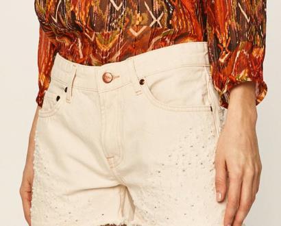 Béžové kraťasy pepe jeans