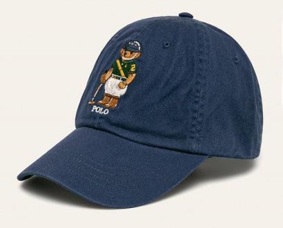 Modrá čepice Polo Ralph Lauren