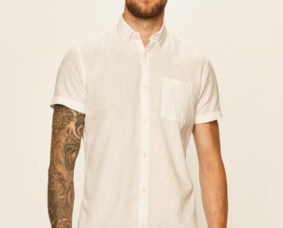 Bílá košile PRODUKT by Jack & Jones