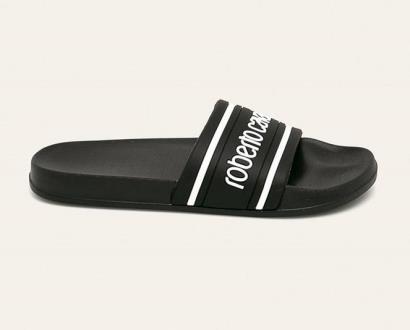 Černé boty ROBERTO CAVALLI SPORT
