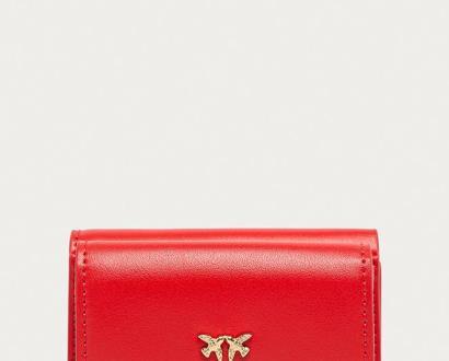 Červená peněženka Pinko