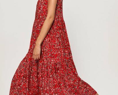 Červené šaty ANSWEAR